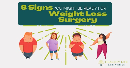 8 Signs You Might Be Ready for Weight Loss Procedure